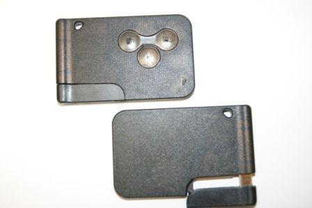 COVER GUSCIO SMART CARD NERO 3 TASTI PER CHIAVE AUTO RENAULT MEGANE