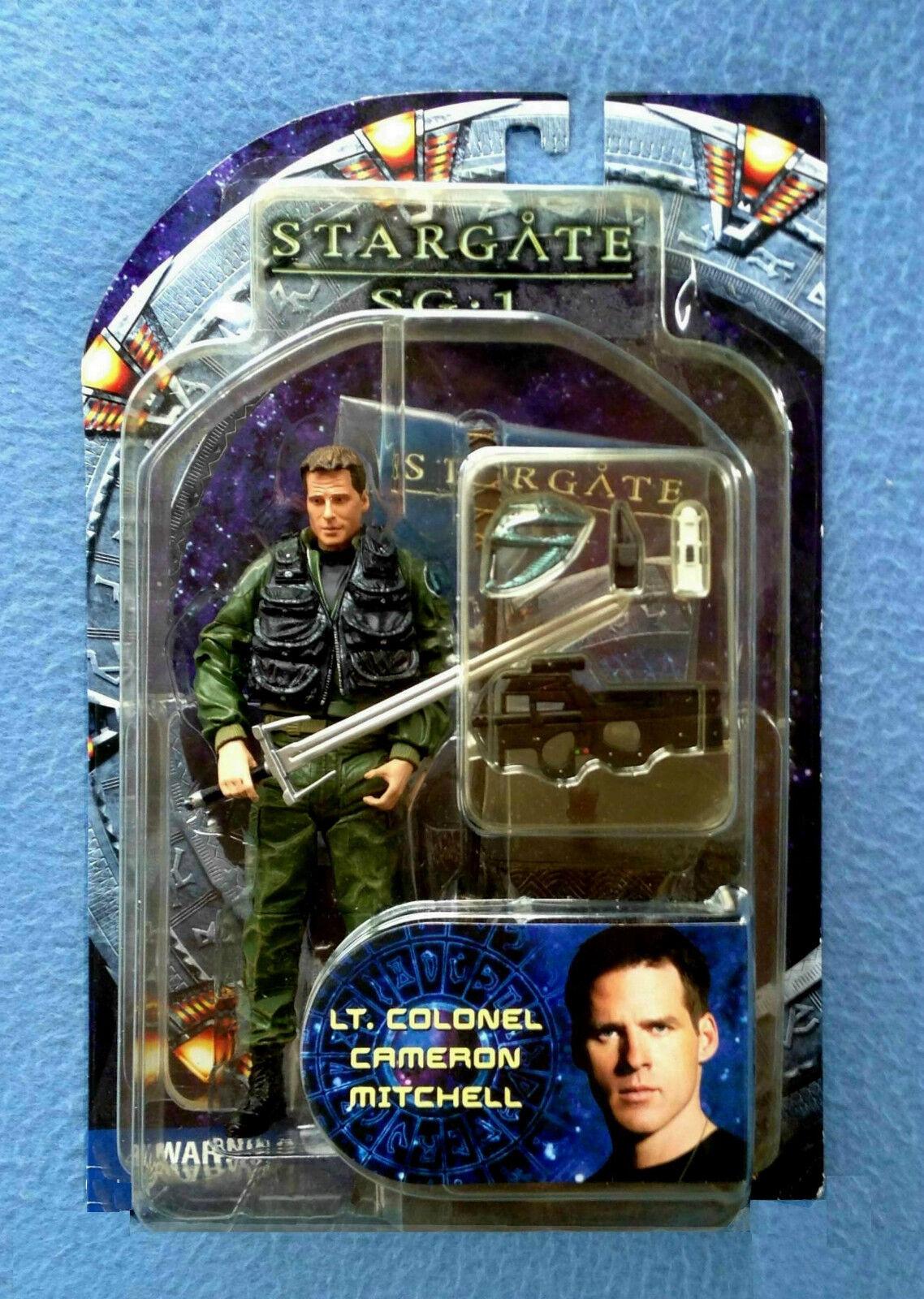 LT. COLONEL CAMERON MITCHELL STARGATE SG-1 DIAMOND SELECT MILITARY 6.5