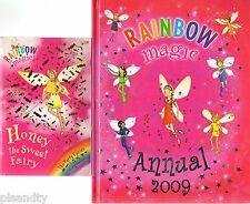 RAINBOW MAGIC FAIRY BOOKS: ANNUAL 2009 & HONEY THE SWEET FAIRY #18 PARTY FAIRIES
