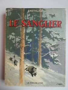 Le-Sanglier-Histoire-Naturelle-et-Chasse-by-K-Snethlage
