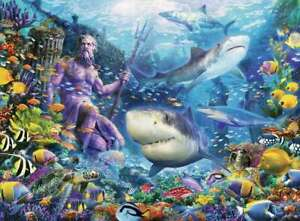 The king of the seas, 500 piece Ravensburger jigsaw. New/ sealed.