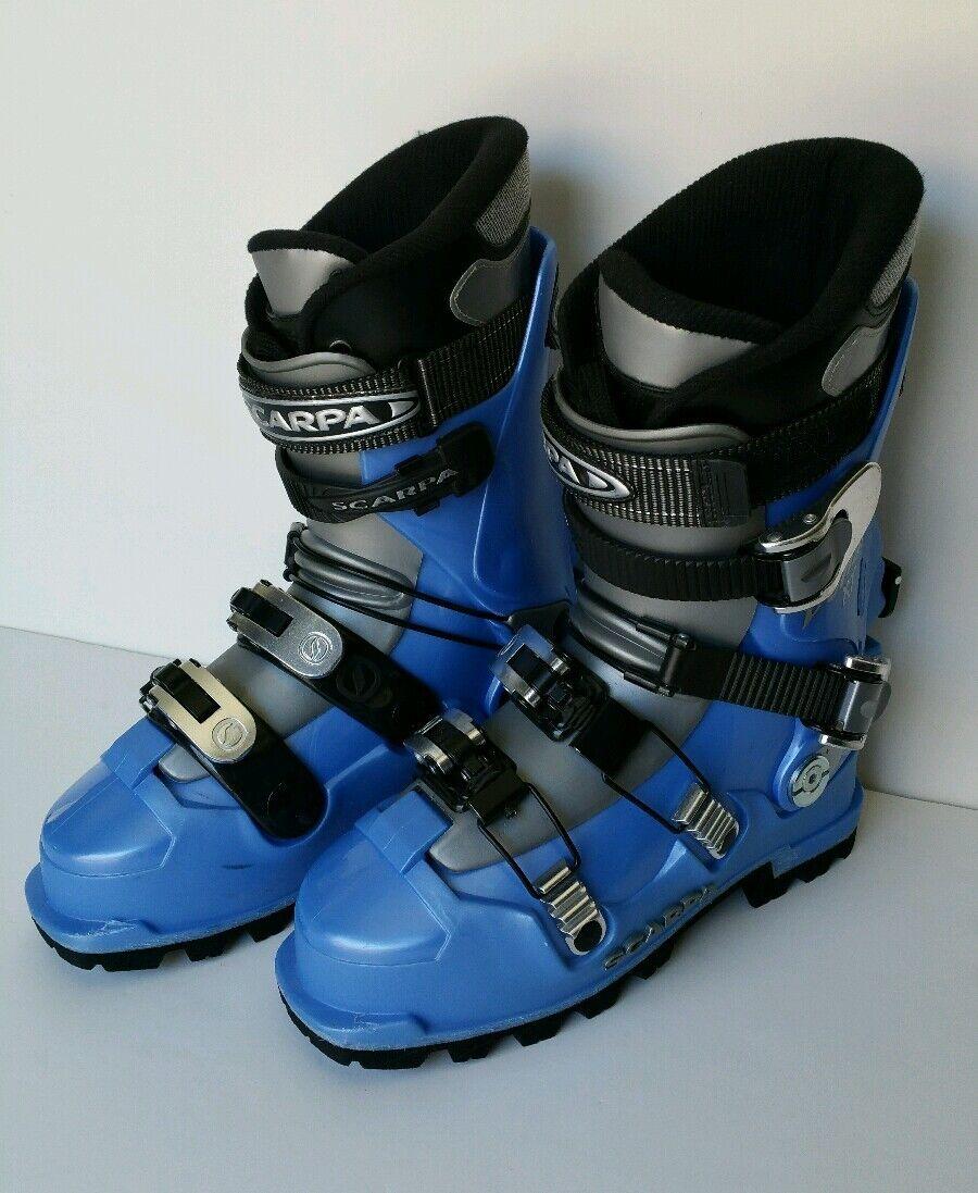 SCARPA DENALI XT Alpine Touring Downhill Ski Stiefel  Herren Größe 6.5/7 Made