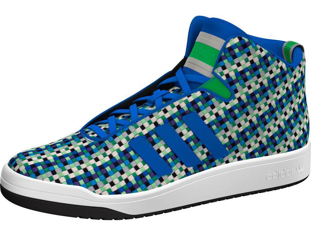 AF4385 MID Men -Adidas -VERITAS MID AF4385 WEAVE -Originals-Trainers-Running-Shoes UK- 9-10 543456