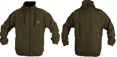 Avid Carp Reversible Hooded Fleece Jacket All Sizes