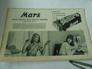 Publicite-de-Presse-1966-Mars-vous-donne-des-forces-neuves