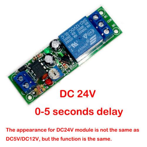 Electrical Equipment & Supplies NE555 Time Delay Relay Module 0 ...