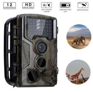 1080P Hunting Trail Camera 12MP IR Waterproof Wildlife Scouting Night Vision 20M 651421582080