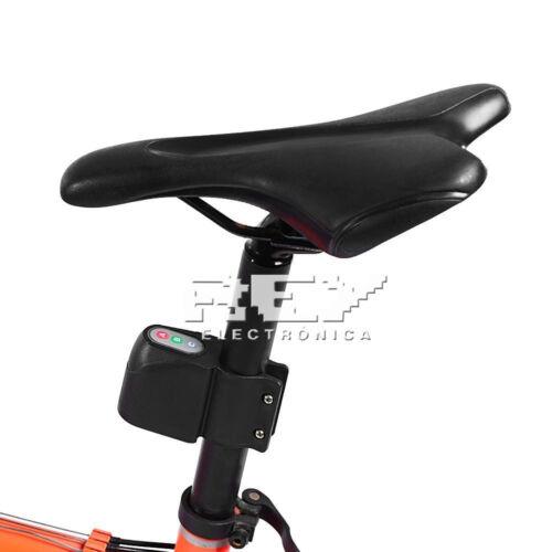 Armoured password Alarm Bike Bicycle lock sound d22