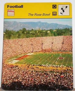 NCAA-The-Rose-Bowl-Stadium-Games-History-1977-Football-Sportscaster-Card-09-22