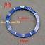 40mm-Red-Black-Blue-Green-Ceramic-Titanium-bezel-insert-fit-GMT-automatic-watch thumbnail 5