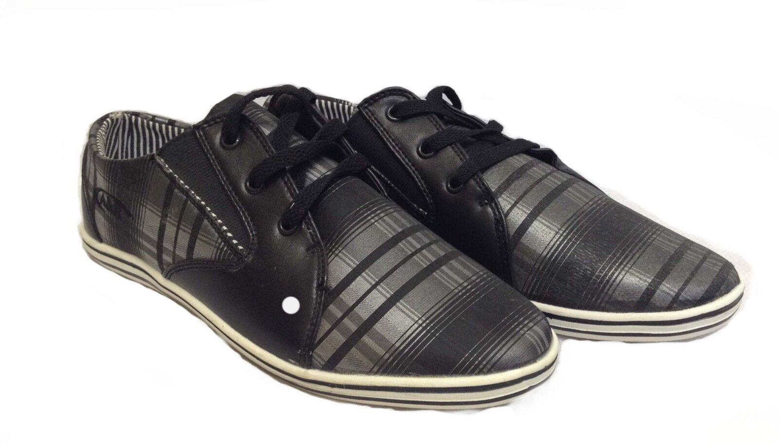 12x Homme Lacets Décontracté Toile Chaussures Tennis Esvoiturepins patins paniers Taille joblots