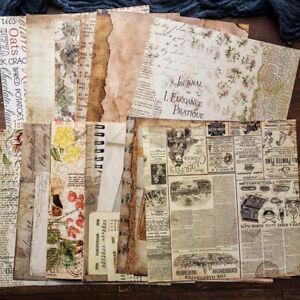20stk-Vintage-Musik-Papier-DIY-Scrapbooking-Geschenke-Karte-Journal-Bastel-Dekor