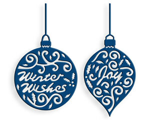 Tattered lace dies by stephanie weightman greeting baubles ttld114
