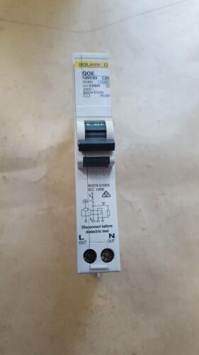 U11.1B3 SQUARE D QOE120C03 30MA 1 POLE CIRCUIT BREAKER