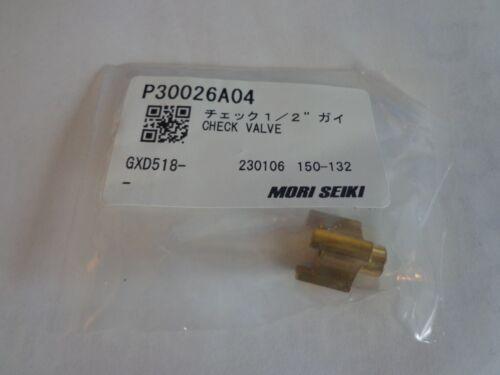 P30026A NEW MORI SEIKI CHECK VALVE FOR THROUGH SPINDLE COOLANT SYSTEM