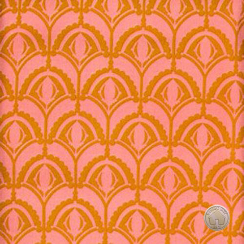 Anna Maria Horner Drawing Room Plume Rose Cotton Fabric by the Yard