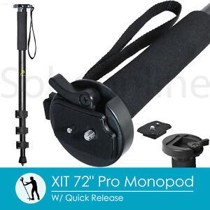 """72"""" Professional Monopod For Canon EOS Rebel 7D 6D T6i T5i T4i T3i SL1&2 Camera"""