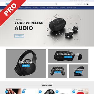 WIRELESS GADGETS STOREDropshipping BusinessProfitable Website For Sale