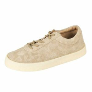 d193a822016e7 NWT YEEZY Season 6 Taupe Thick Shaggy Suede Crepe Sneakers Shoes 8 ...