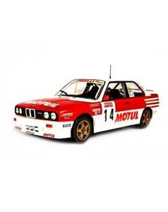 1-18-IXO-BMW-M3-E30-Bastos-Chatriot-Tour-De-Gara-1989-Altaya-Modello-IN-Scala