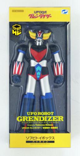 Kaiyodo Soft Vinyl Sofubi Toy Box Hi-LINE 006 UFO Robot Grendizer