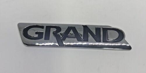 innova3.com Genuine 86317 4D000 Rear Trunk Lid GRAND Logo Emblem ...