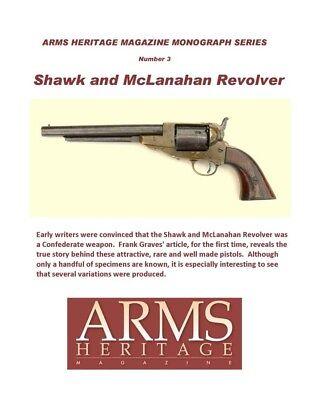 Shawk /& McLanahan Revolvers Arms Heritage Monoghraph #3
