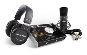 M-Audio-M-Track-2x2-Vocal-Studio-Pro-Complete-Kit-for-Study-of-Registration