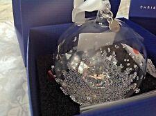 Swarovski Crystal 2013 1st ANNUAL EDITION CHRISTMAS BALL ORNAMENT (RETIRED)