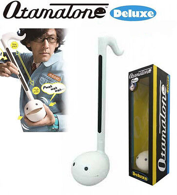 Otamatone Deluxe Melody Electronic Musical Instrument from Maywa Denki (White)