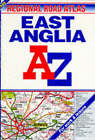 A-Z Regional Road Atlas of East Anglia by Geographers' A-Z Map Company (Paperback, 1996)