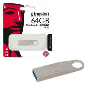 64GB-NEW-Kingston-Data-Traveler-SE9-G2-USB-3-0-Flash-Drive-Memory-Stick-64GB