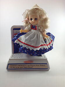 Passport to Holland Doll--Kristen--1993 She talks!
