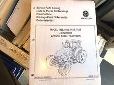 New Holland 4835 5635 6635 7635 Tractor Factory Parts Catalog Unused Nip