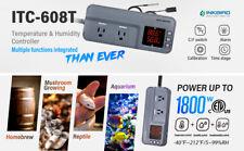 Inkbird Itc608t Wired Thermostat Digital Temp Humidity Controller Brew Grow Heat