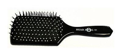 HEAD JOG HAIR GROOMING PADDLE BRUSH 01 NEW