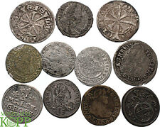 WAL127) HABSBURG Lot 11 Münzen Etschkreuzer, Kreuzer, Groschen, Maley, Poltura