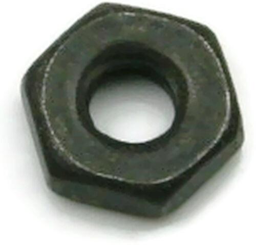 Qty 250 Black Oxide Stainless Steel Machine Screw Hex Nut UNC #2-56