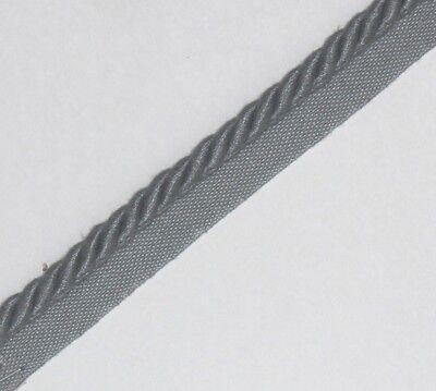 Legatura Flangiato/tubazioni Cavo Di 8 Mm, Blu X .2/5/10 Metri, Gratis P&p - Pl-3452-