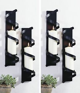 kerzenst nder wandkerzenhalter kerze kerzenhalter teelichter windlicht teelicht ebay. Black Bedroom Furniture Sets. Home Design Ideas