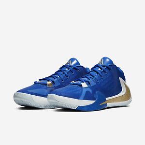 Details about Nike Zoom Freak 1 Giannis Blue Greece Greek Mens Basketball  2019 All NEW