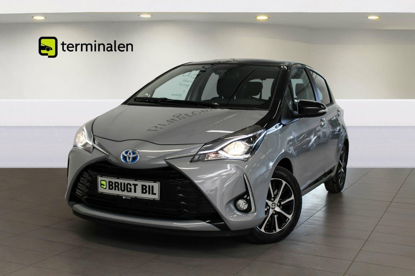 Toyota Yaris 1,5 Hybrid H3 Premium e-CVT 5d - 183.800 kr.