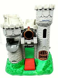 VTG-1994-Fisher-Price-Great-Adventures-7110-Medieval-Knights-Castle-Only-AS-IS