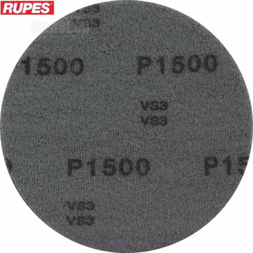 Rupes 125mm X-CUT Foam Abrasive Disc 5 Discs Pad 1500 Grit