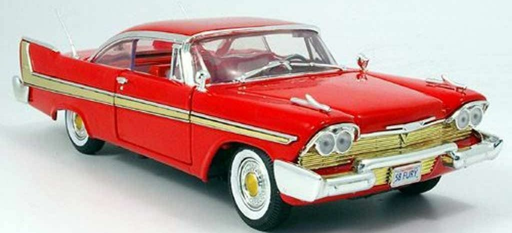 Christine Lookalike, Plymouth Fury 1958 1 18 Scale New