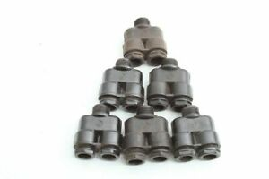 1-X-Bakelite-Cable-Gland-Doppeleinfuhrung-Zwilling-Cable-Bushing
