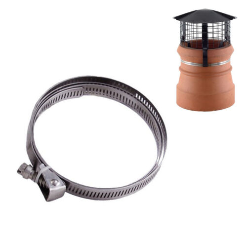Large Jubilee Metal Strap 356-508mm Chimney Pot Cowl Replacement Fixing Strap