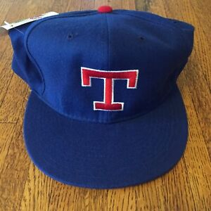 80s-90s-Vintage-Texas-Rangers-Fitted-Autographed-New-Era-Baseball-Hat-7-3-4