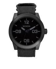Nixon Corporal Negro Mate / Mate Reloj
