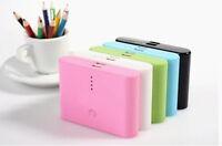 Dual-USB Mobil Power Bank Handy Ladegerät Zusatz Akku 20000mAh Batterie
